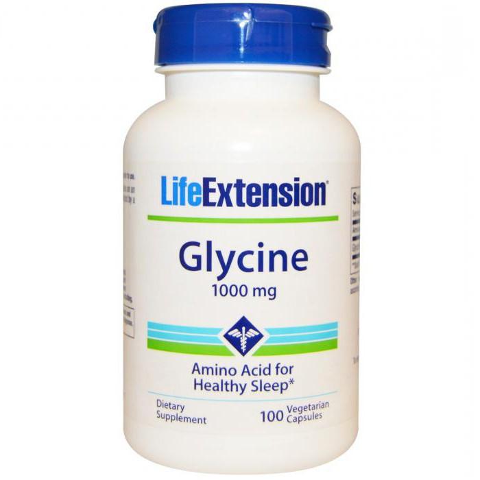 глицин свойства и применение