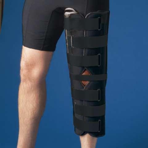 Бандаж на колено с ребрами жесткости