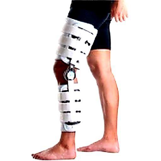 Бандаж на колено с ребрами