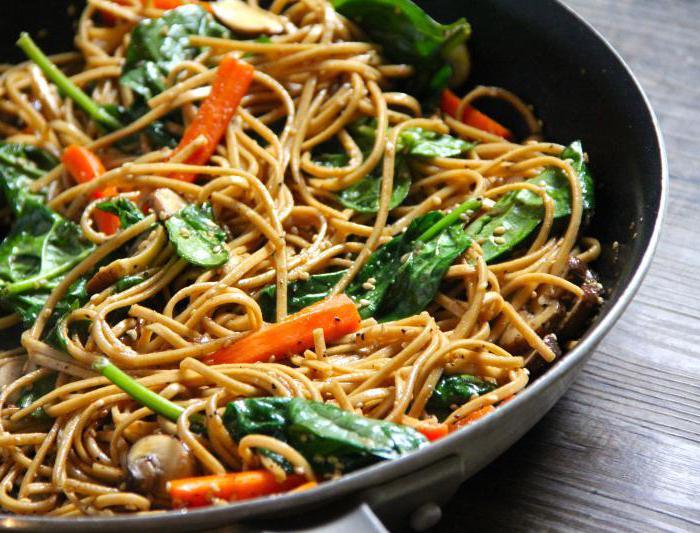 как на сковороде приготовить макароны