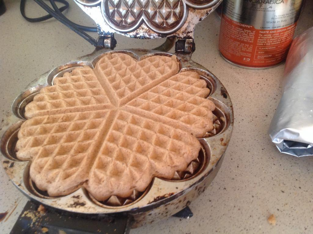 Рецепт вафель в вафельнице без яиц