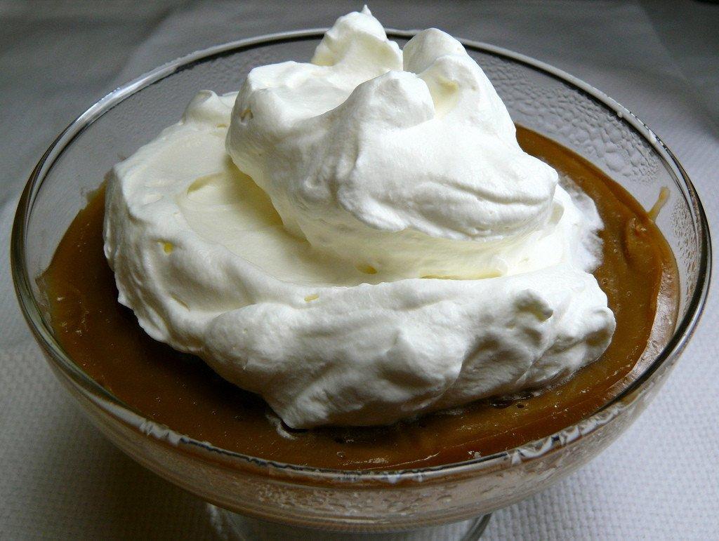 caramel ermigurt pudding