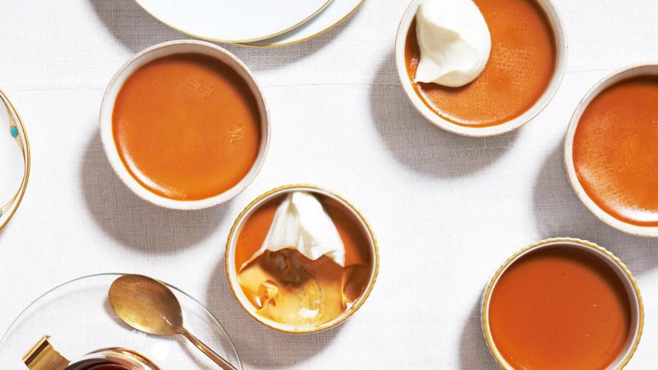 caramel sauce pudding
