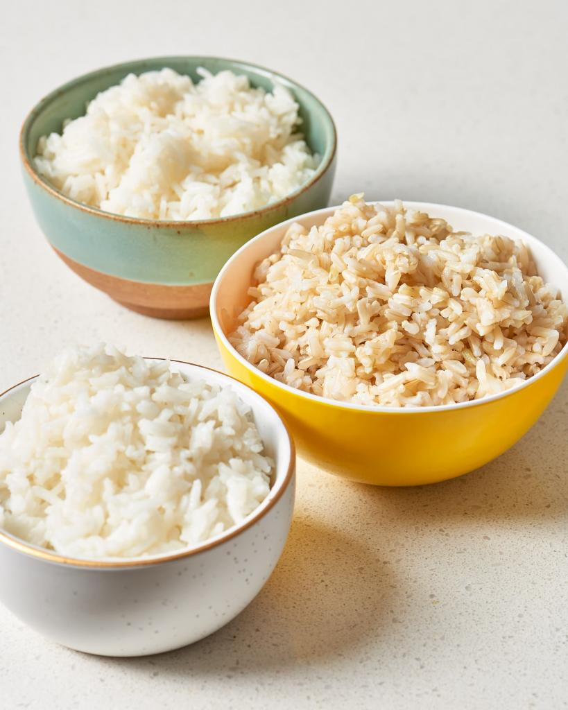 polished white rice benefit and harm