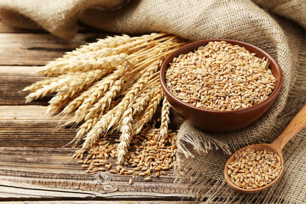 chemical composition of wheat germ