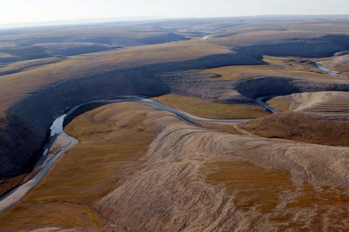 Тектоническая структура Среднесибирского плоскогорья