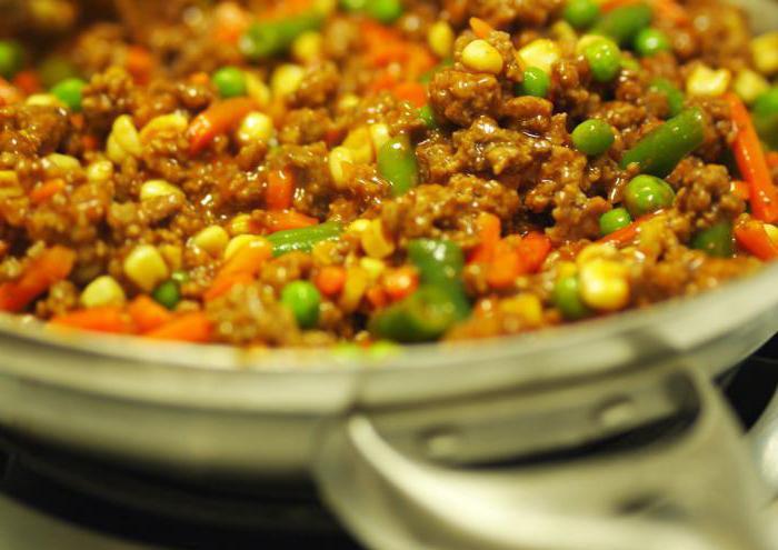 фаршированные овощи в духовке с фаршем