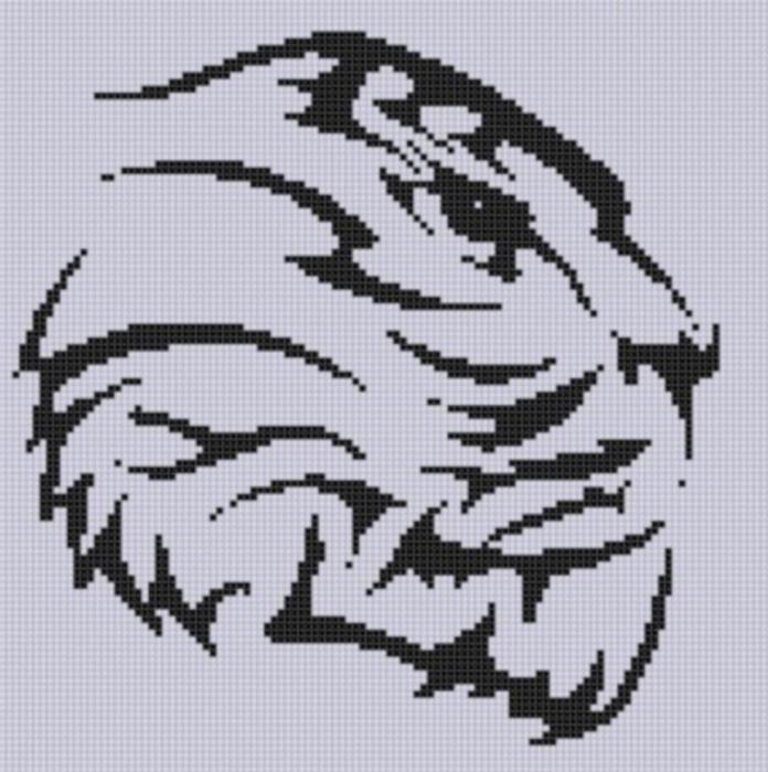 Вышивка тигры значение