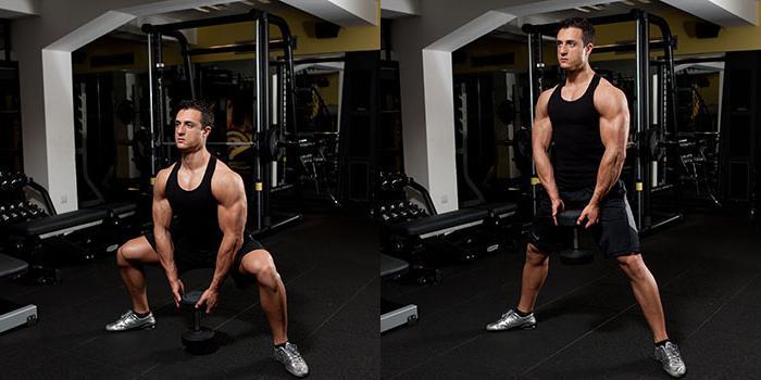 приседание плие какие мышцы работают