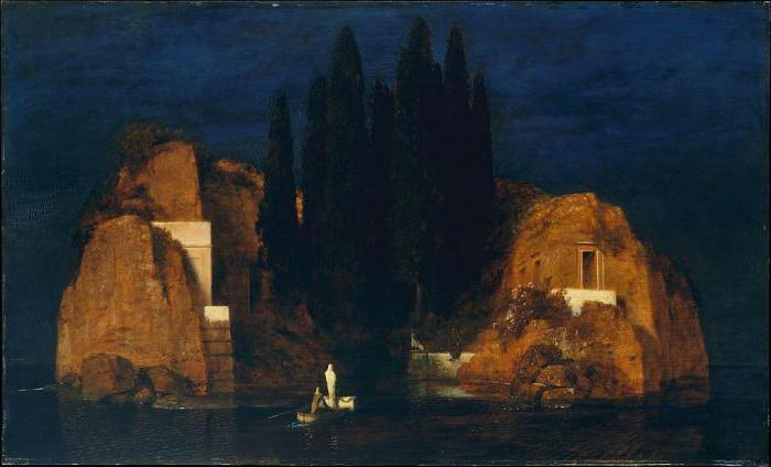 картина остров мертвых в эрмитаже