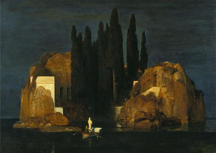картина беклина остров мертвых