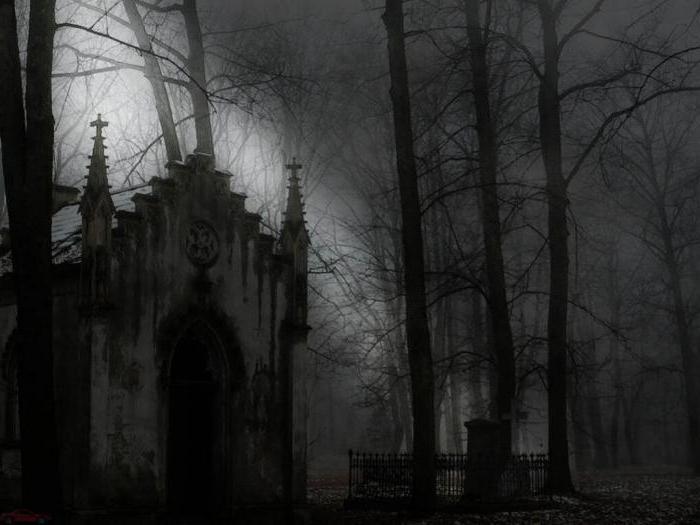романы в готическом стиле