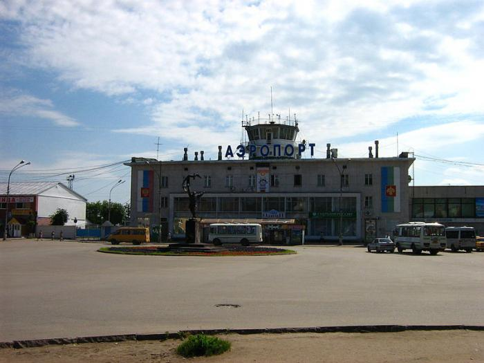 аэропорт сыктывкар адрес