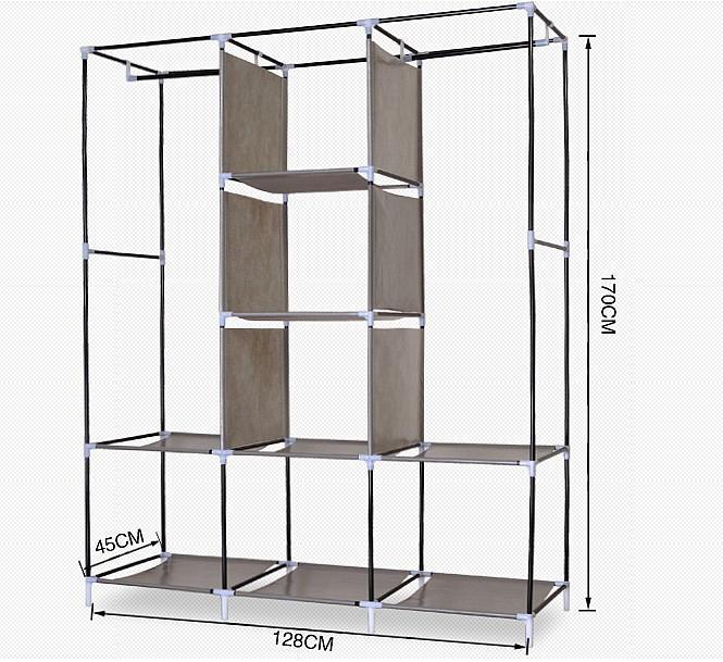 шкафы-купе размеры внутри фото