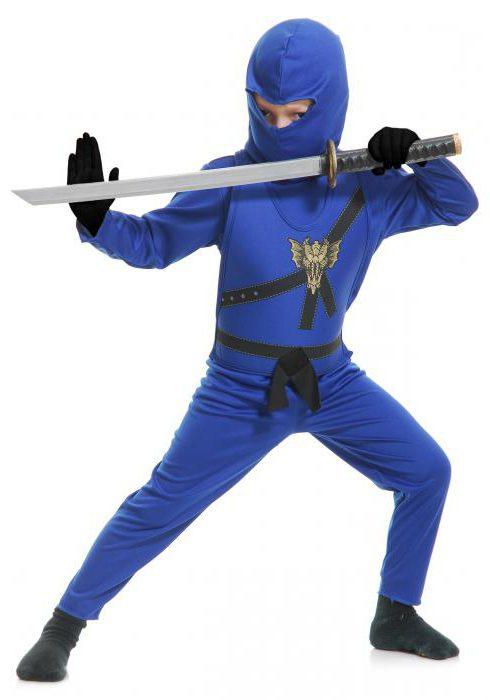 костюм ниндзяго