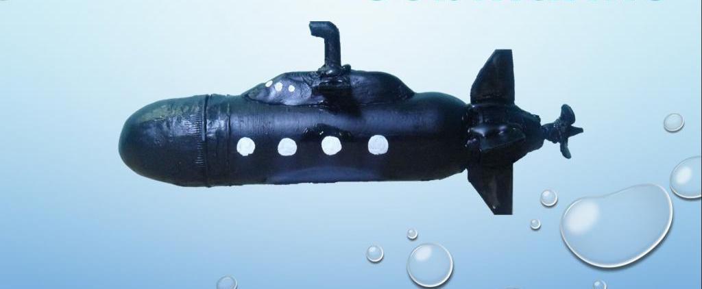 Как сделать подводную лодку: поделки для мальчиков на ...