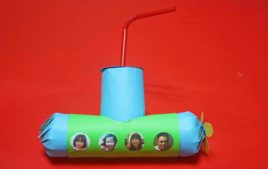 Как сделать подводную лодку своими руками