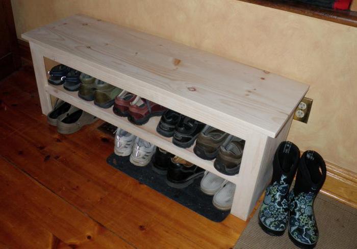 Изготовления полки для обуви своими руками
