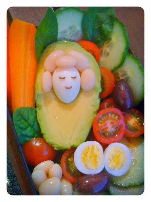 красивые фигурки из овощей