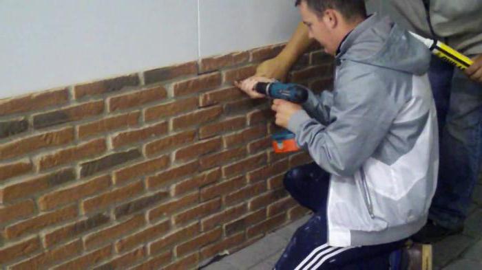 как выполнить монтаж фасадных панелей своими руками