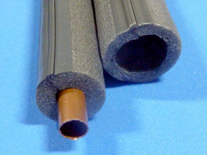 утеплители для труб из вспененного полиэтилена