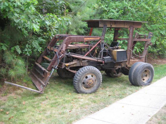 самодельные трактора с двигателем ваз