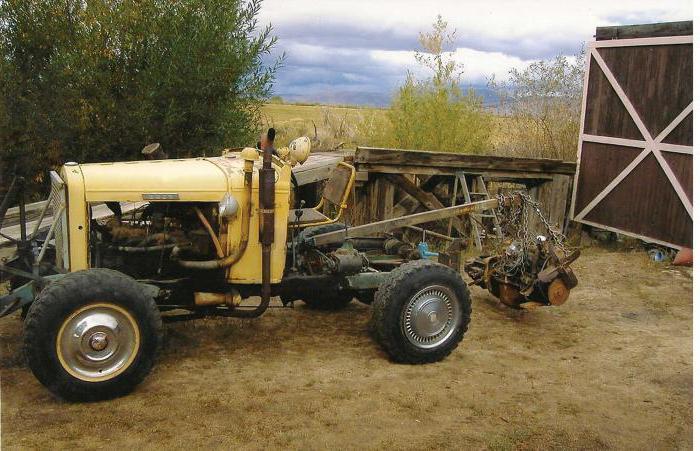 чертежи самодельных тракторов