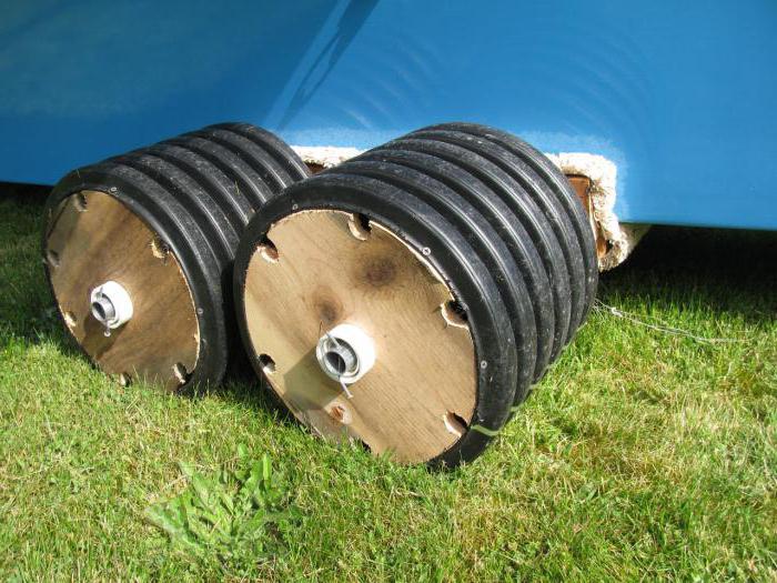 колеса транцевые для лодок пвх своими руками