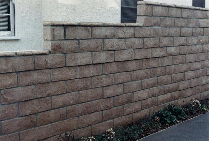 кладка стен из бетонных блоков