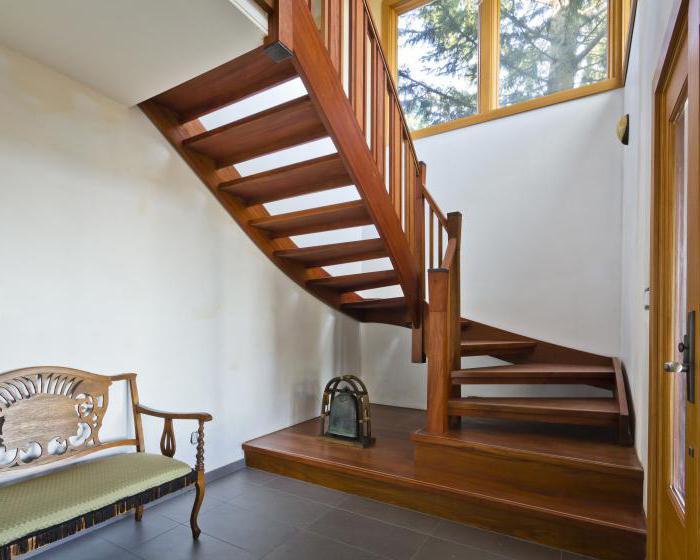 изготовление винтовых деревянных лестниц