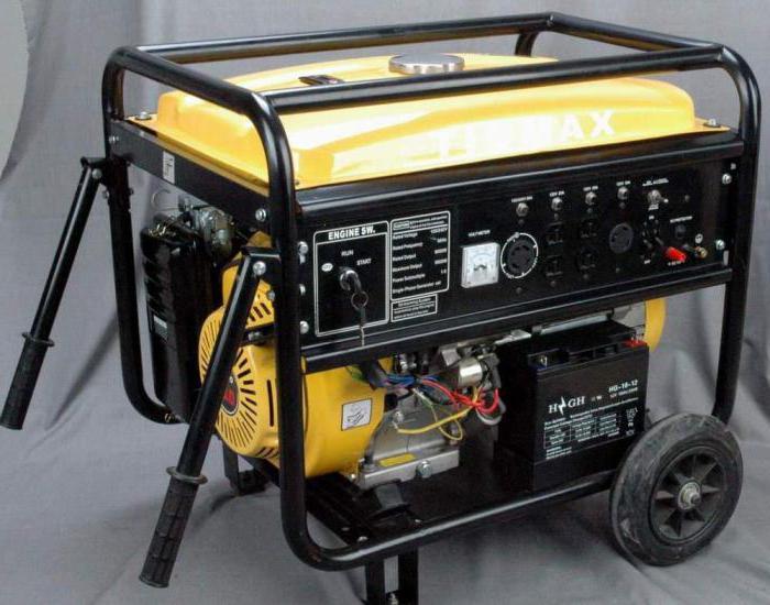 Электрогенераторы бензиновые для дачи