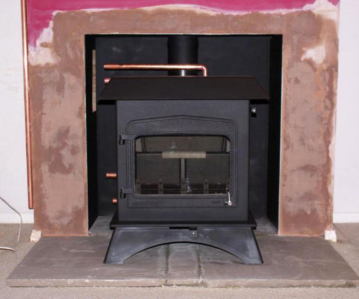 система отопления печью камином с водяным контуром