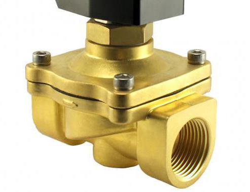 Устройство электромагнитного клапана для воды
