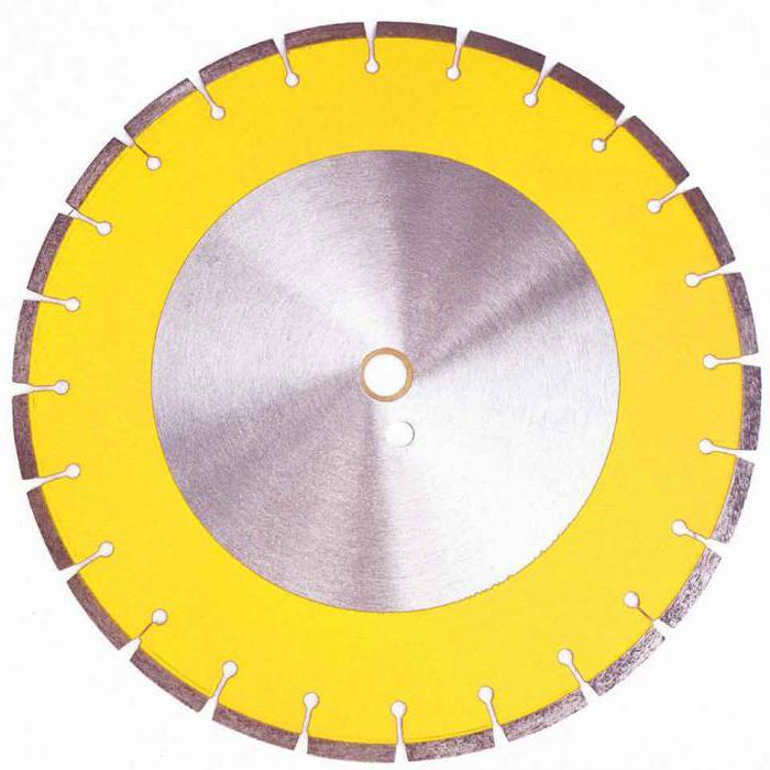 Диск алмазный отрезной сплошной 230 х 22,2 мм сухая резка Matrix Professional
