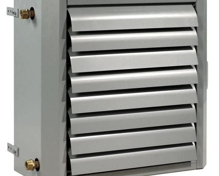 водяные тепловентиляторы тепломаш
