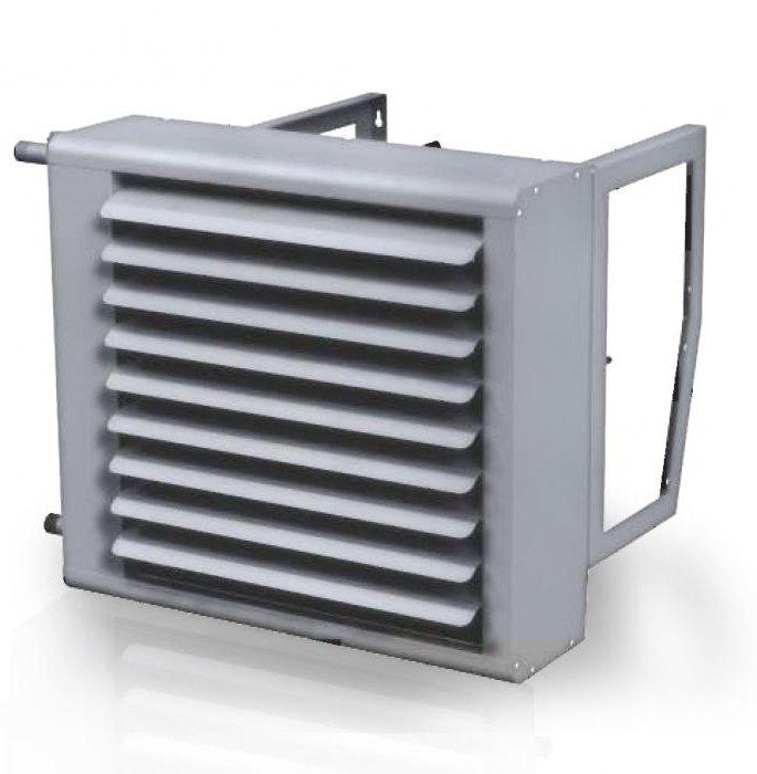 тепловентиляторы с водяным источником тепла
