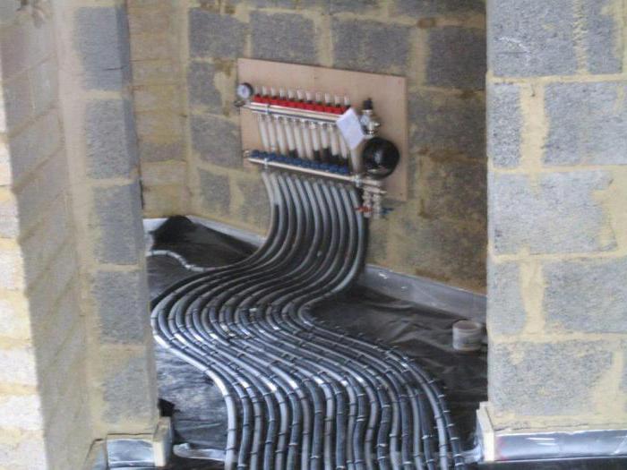 трубы для отопления частного дома