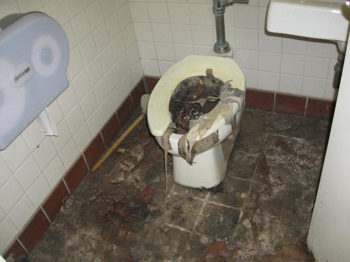 Устранить засор в канализации
