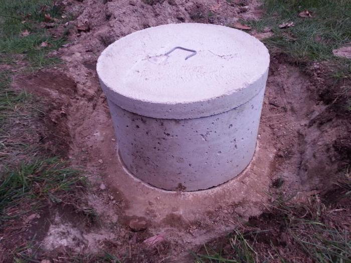 бетонные кольца для септика размеры