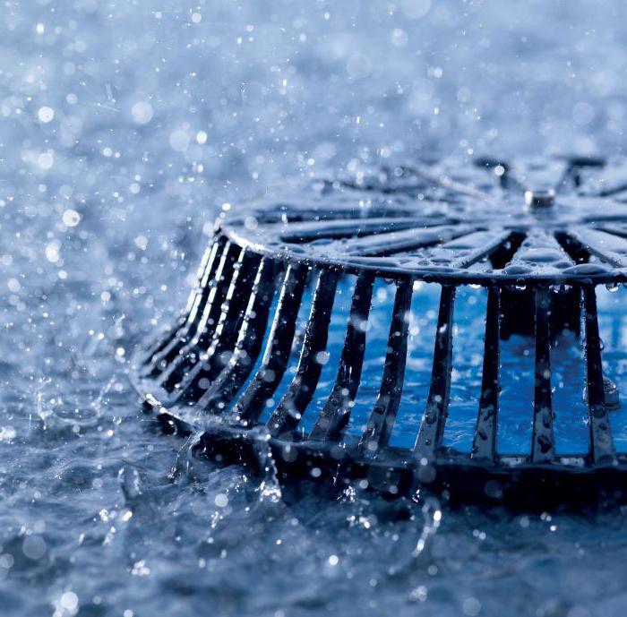 Монтаж дождевой канализации