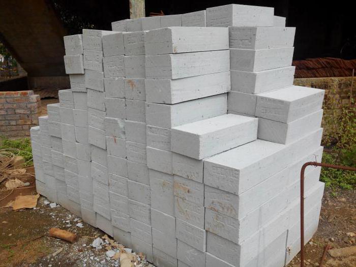кладка из блоков ячеистого бетона