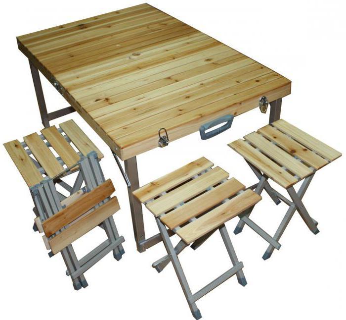 походный столик раскладной своими руками