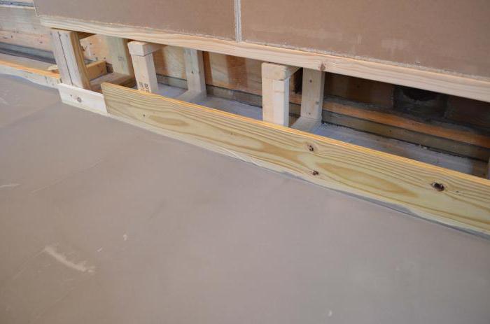 Наливной пол в деревянном доме