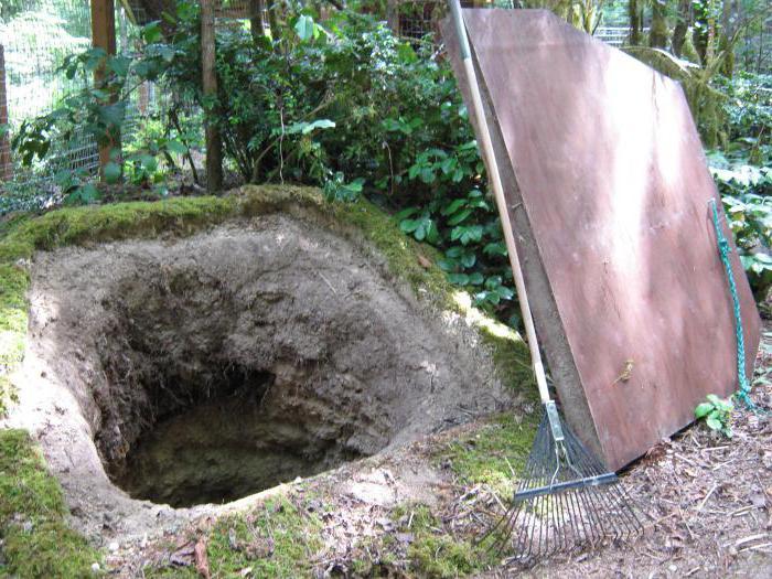 овощная яма из кирпича своими руками