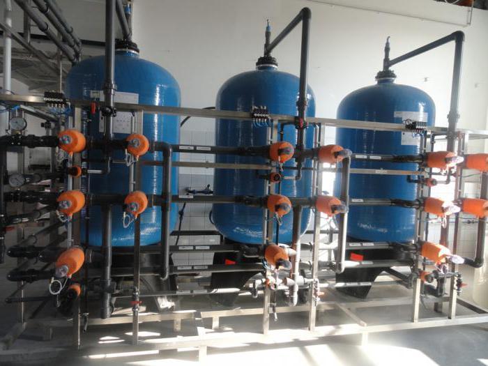 станция обезжелезивания воды