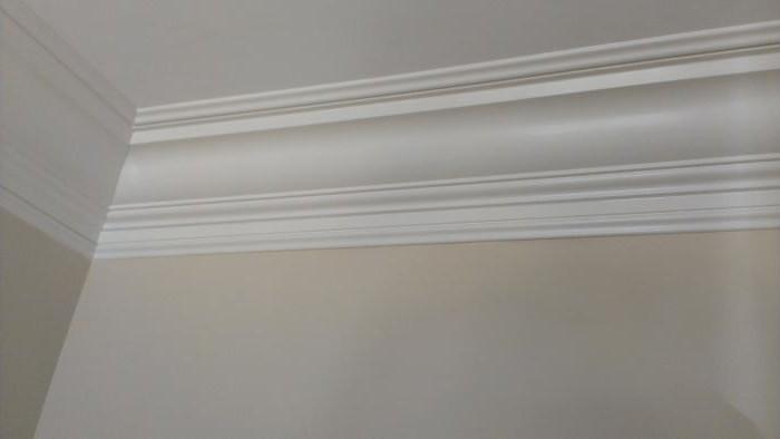 Заделка потолочного шва между плитами перекрытия