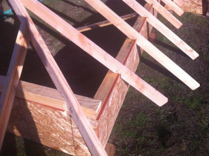 трехскатные крыши своими руками