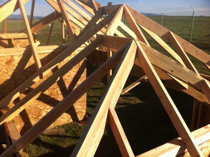 Как сделать трехскатную крышу своими руками 167