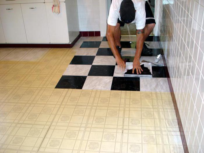 Время высыхания плиточного клея на полу