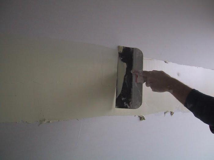 Как наносить короед на стену